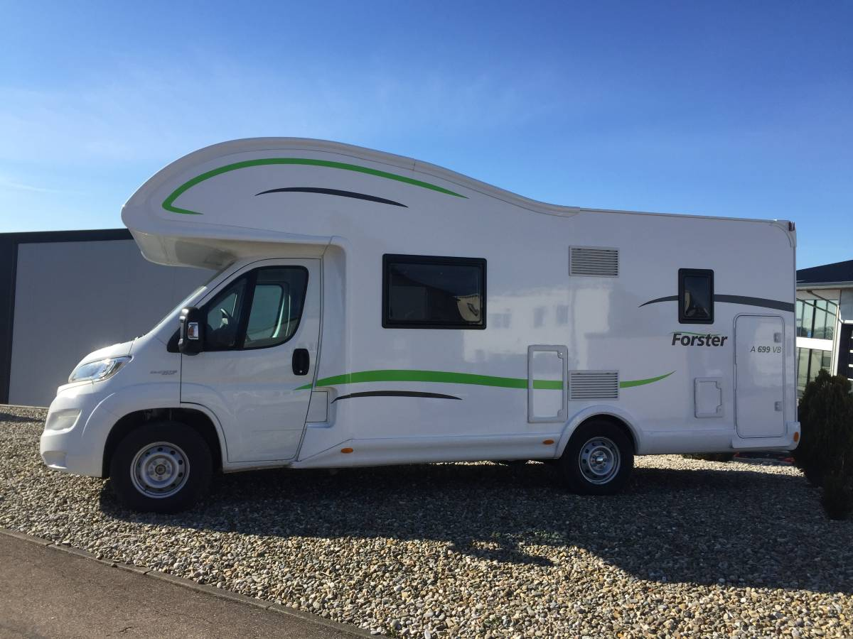 Alkoven Forster A699 HB Fiat Ducato 96 kW / 130 PS